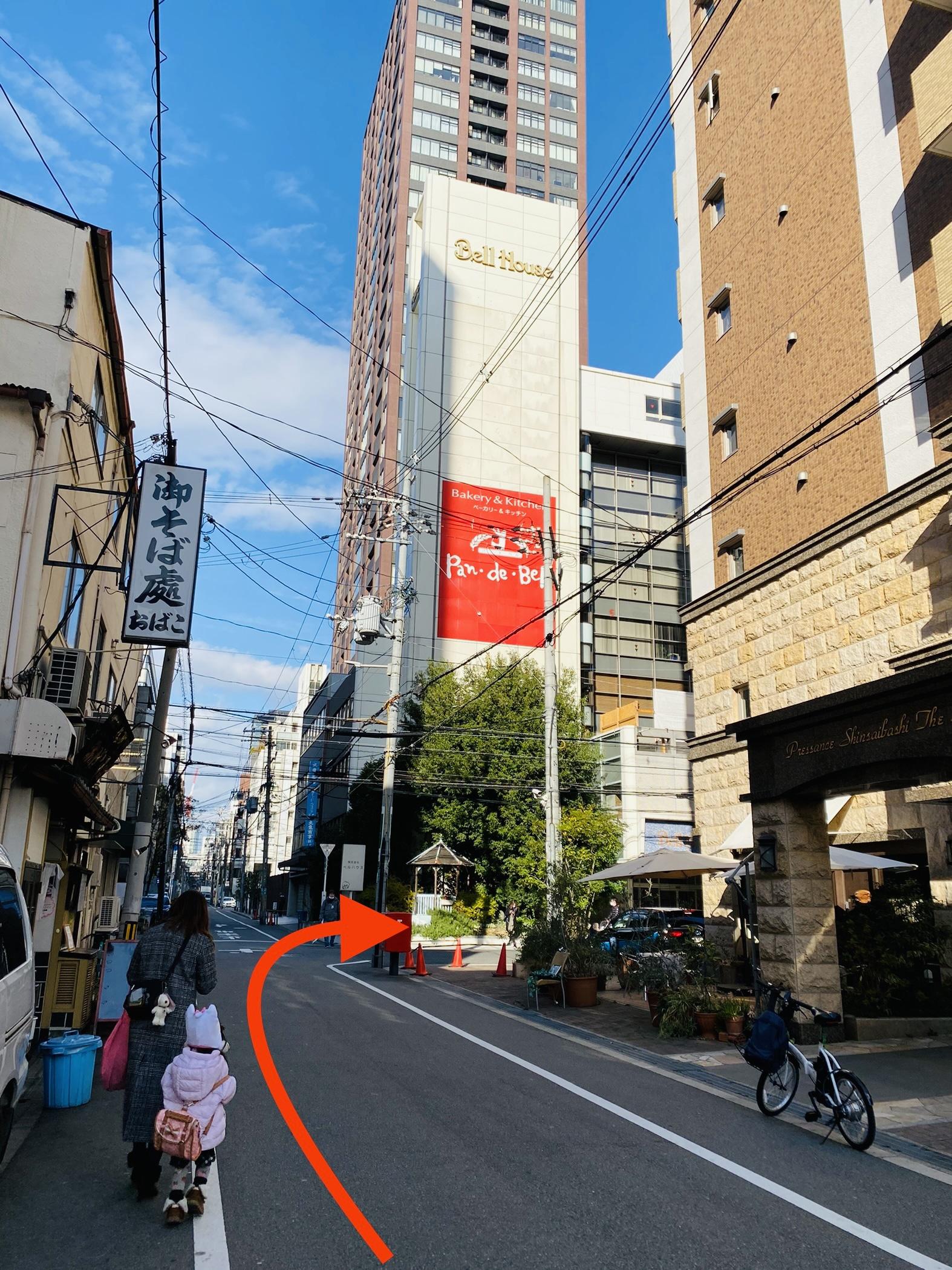 大阪メトロ堺筋線・長堀橋駅からの行き方