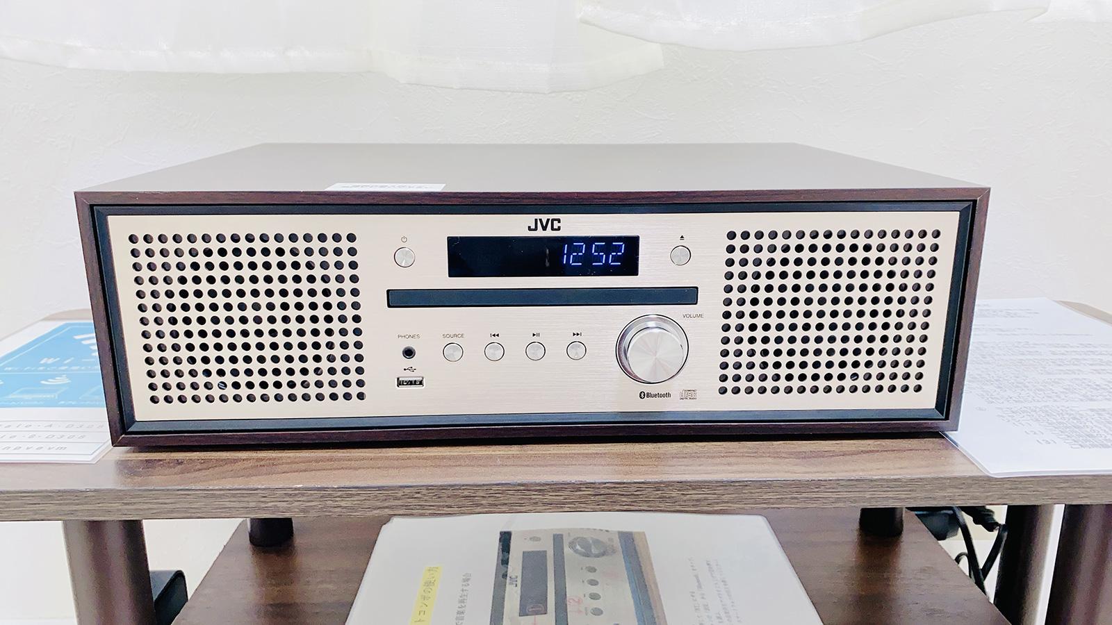 CD・USBメモリ・Bluetooth対応音楽プレイヤー